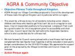 agra community objective19