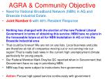 agra community objective7