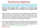 community objective