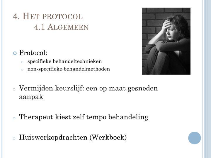 4. Het protocol