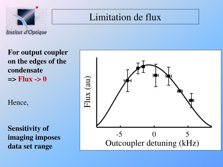 Limitation de flux