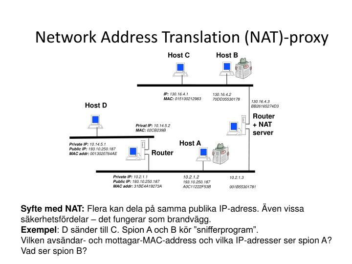 Network Address Translation (NAT)-proxy