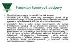 fenom n tumorov podpory
