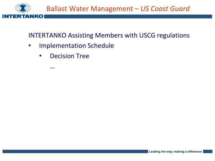 Ballast Water Management –