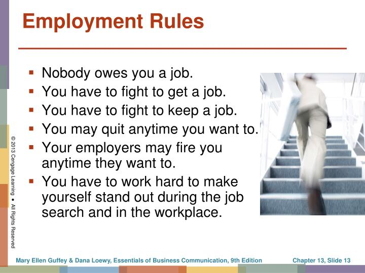 Employment Rules