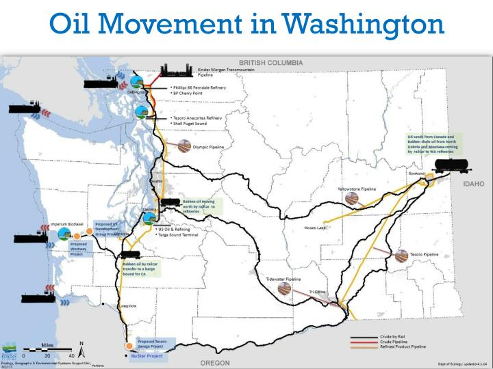 Oil Movement in Washington
