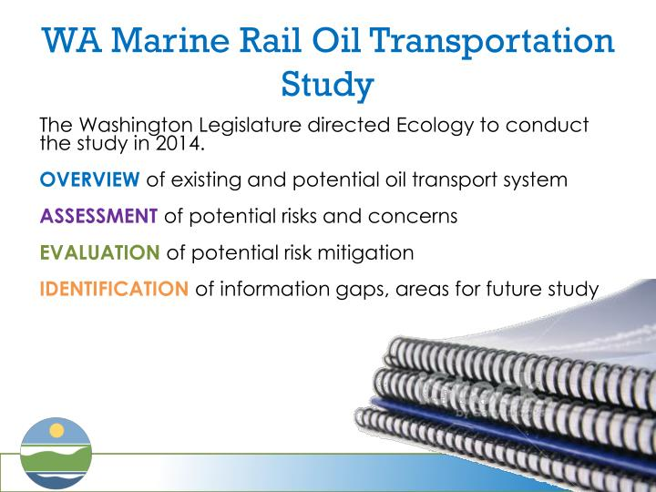 WA Marine Rail Oil Transportation Study