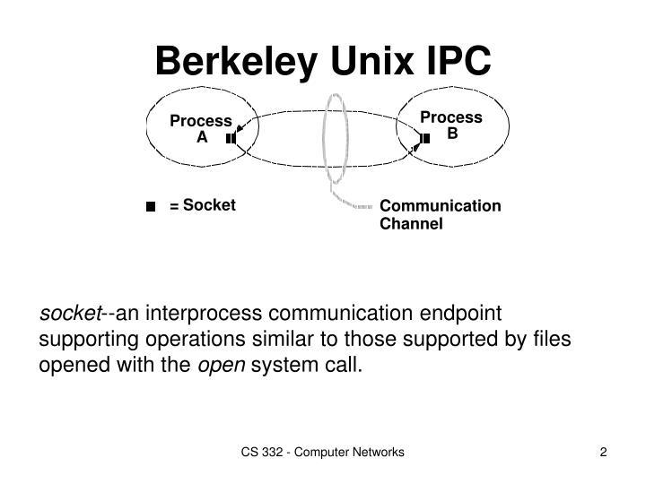 Berkeley Unix IPC