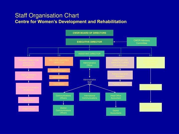 Staff Organisation Chart