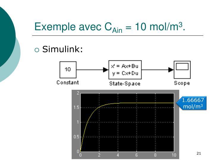 Exemple avec C
