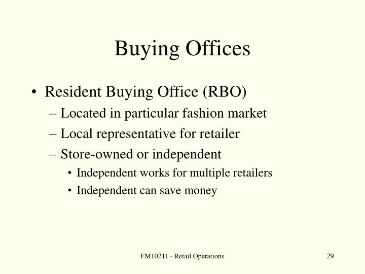 Buying Offices