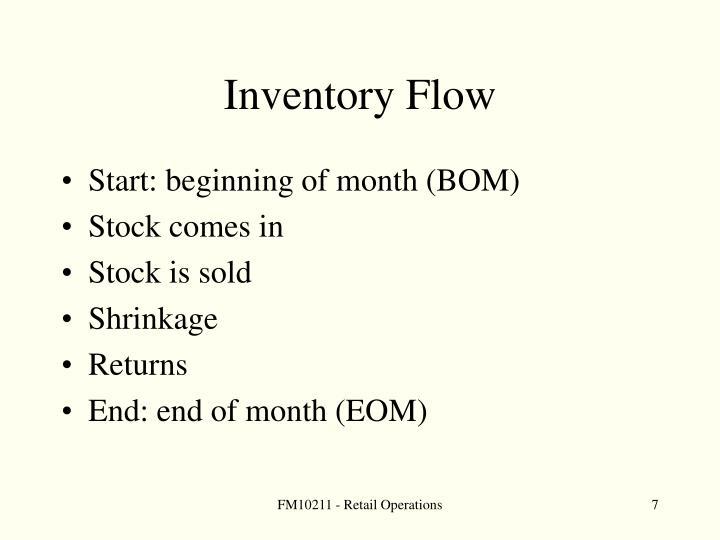 Inventory Flow
