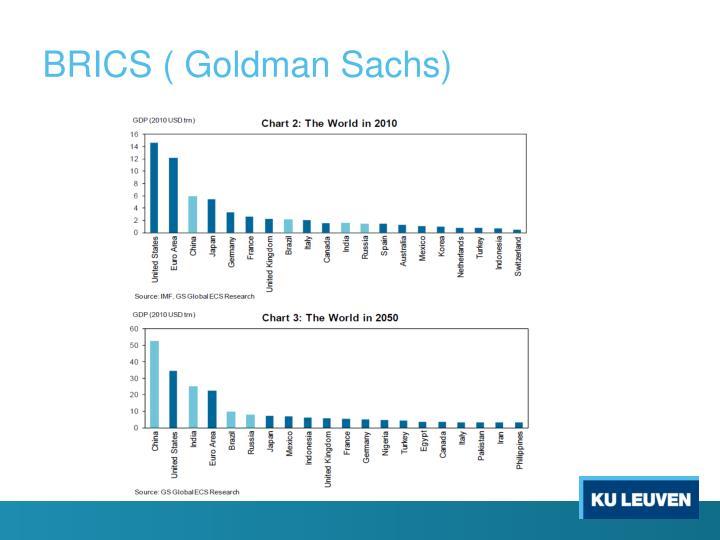 BRICS ( Goldman Sachs)