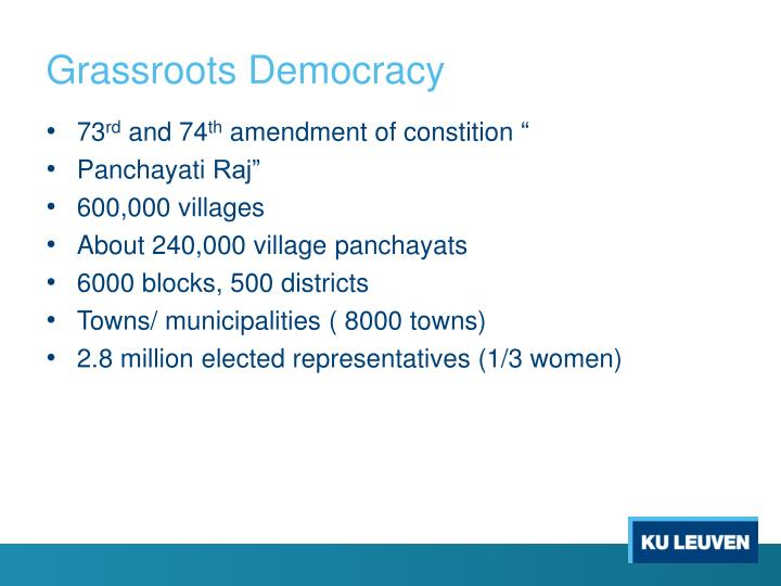 Grassroots Democracy