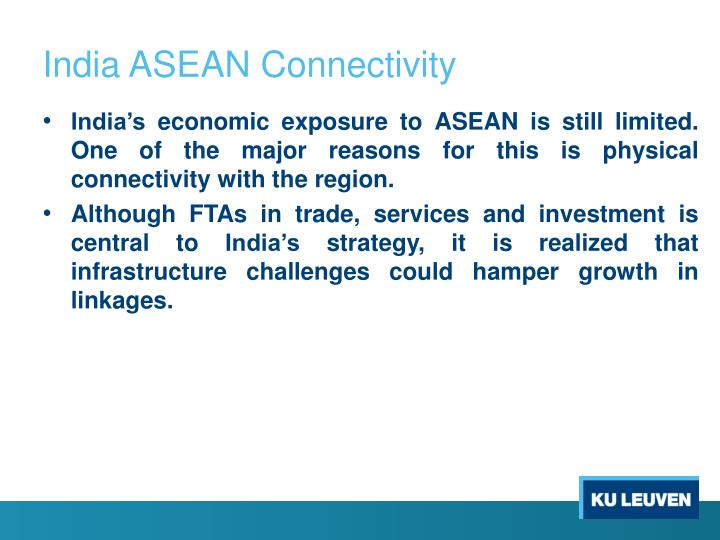 India ASEAN Connectivity