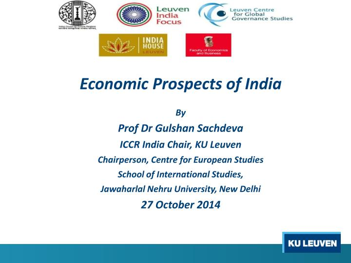 Economic Prospects of India