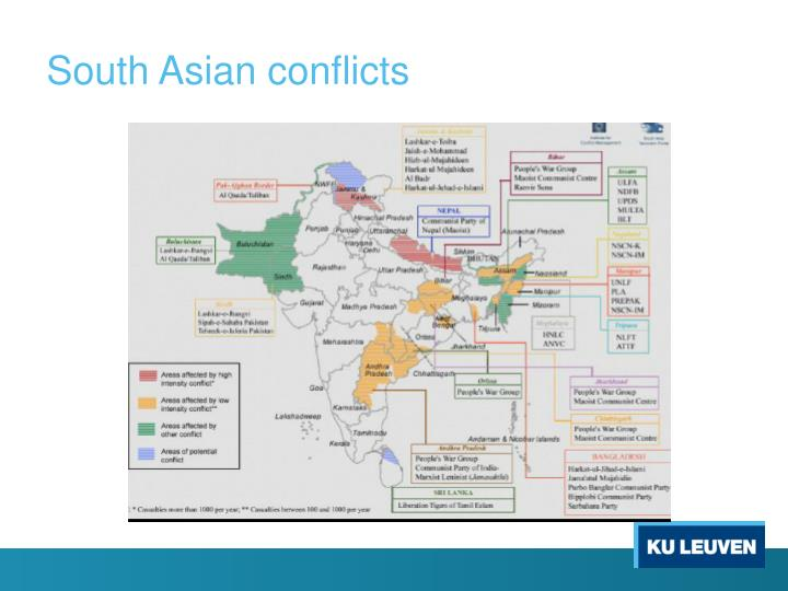 South Asian conflicts