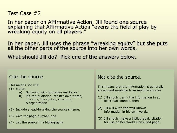 Test Case #2