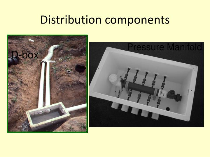 Distribution components