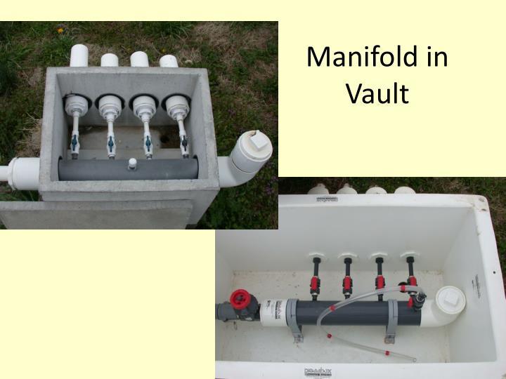 Manifold in Vault