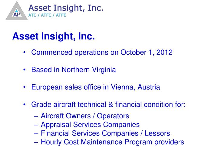Asset Insight, Inc.