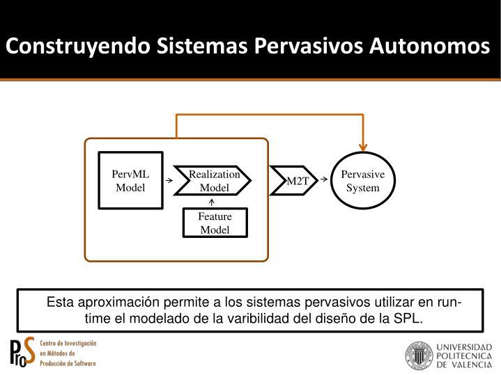 Construyendo Sistemas Pervasivos Autonomos