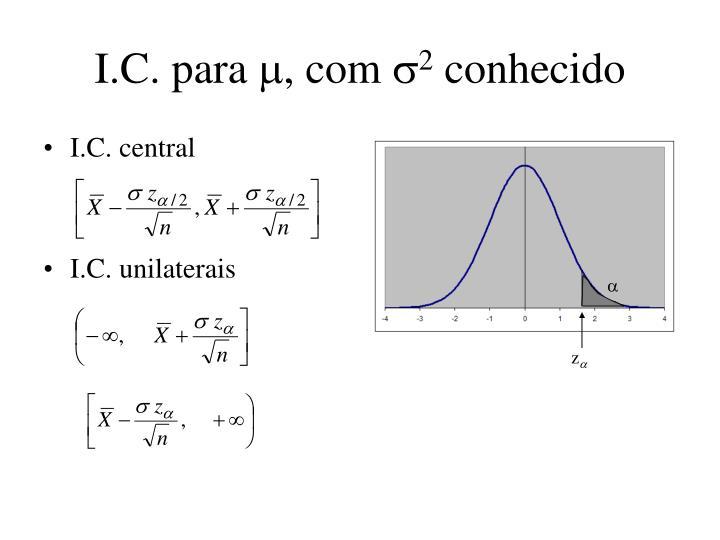 I.C. para