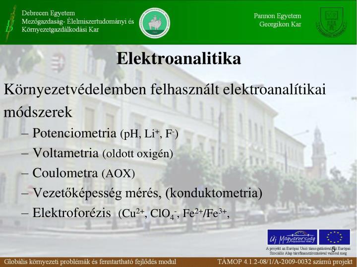 Elektroanalitika