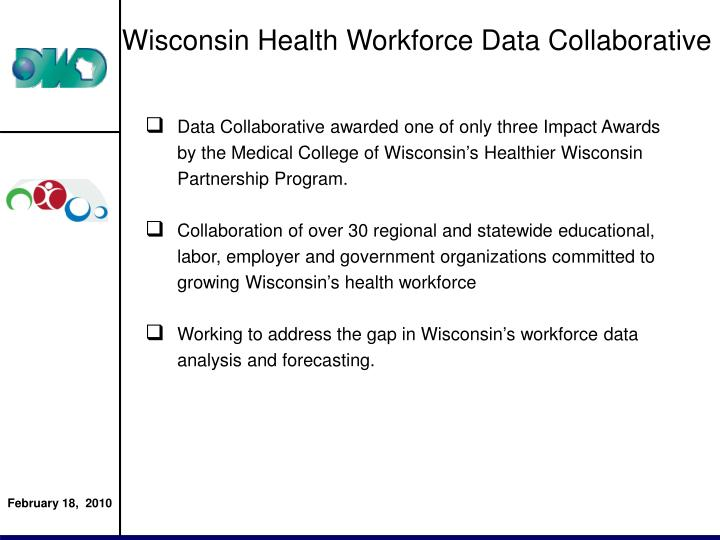 Wisconsin Health Workforce Data Collaborative