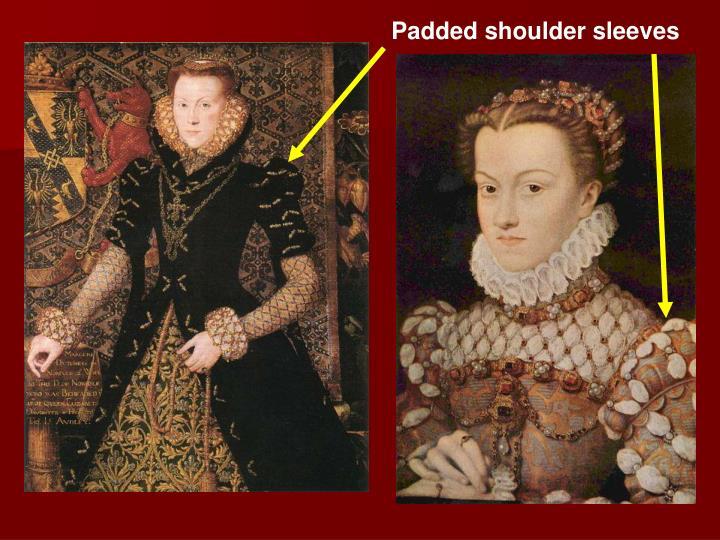 Padded shoulder sleeves