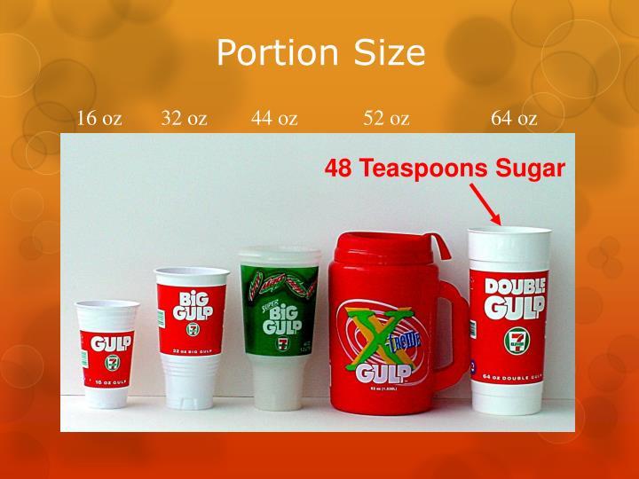 48 Teaspoons Sugar