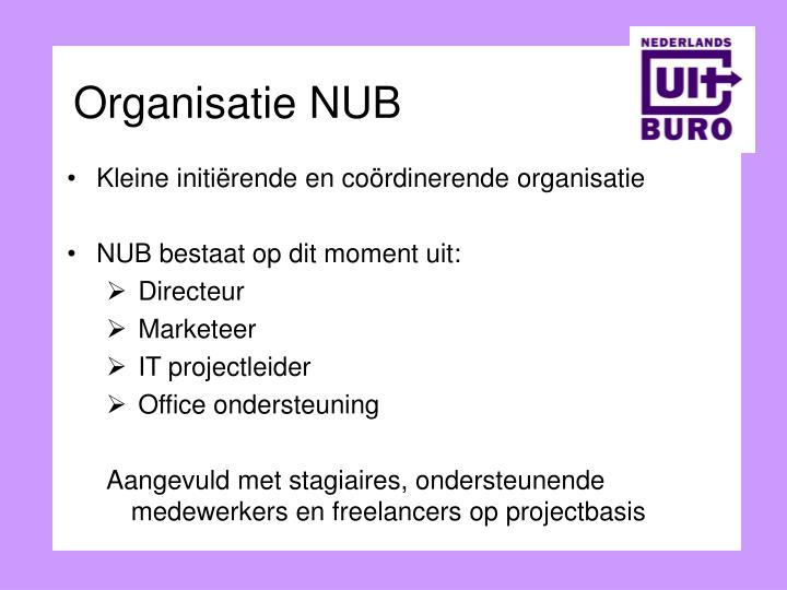 Organisatie NUB