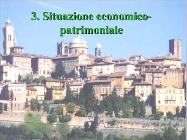 3. Situazione economico-