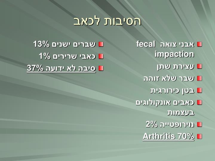 שברים ישנים 13%