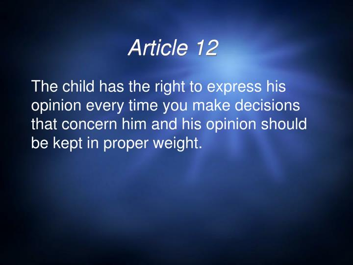 Article 12