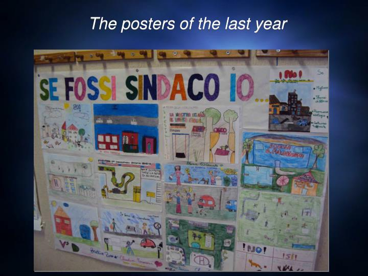 The posters of the last year