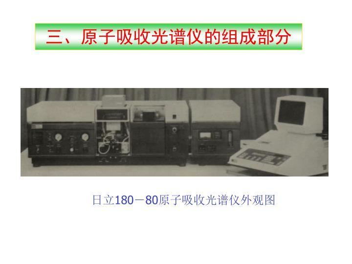 三、原子吸收光谱仪的组成部分