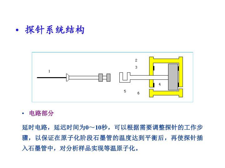 探针系统结构
