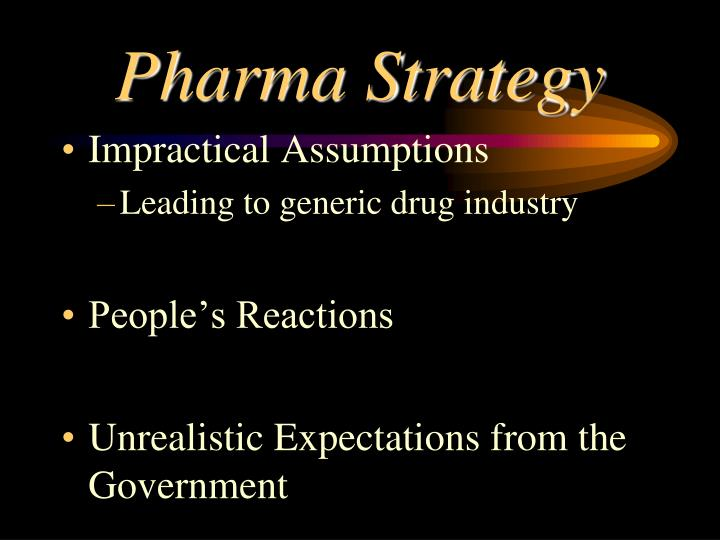 Pharma Strategy