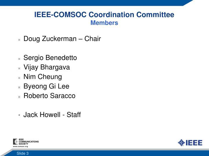IEEE-COMSOC Coordination Committee