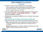 ieee comsoc coordination summary