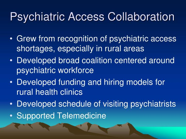 Psychiatric Access Collaboration