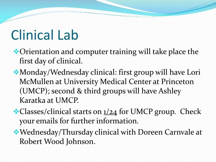Clinical Lab