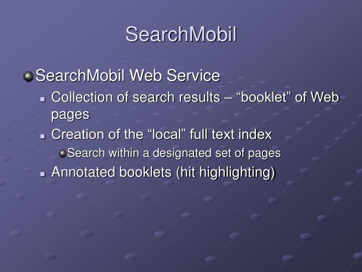 SearchMobil