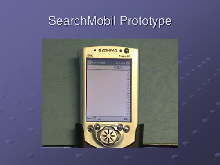 SearchMobil Prototype