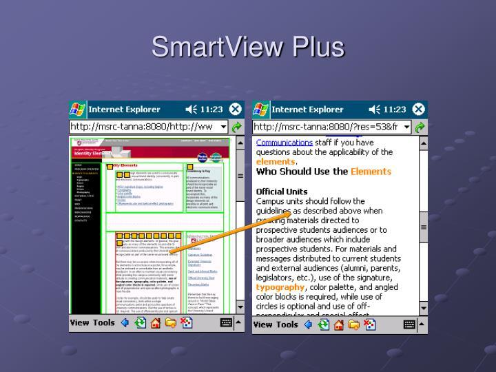 SmartView Plus