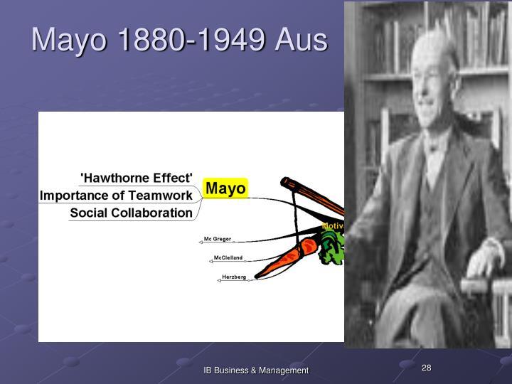 Mayo 1880-1949