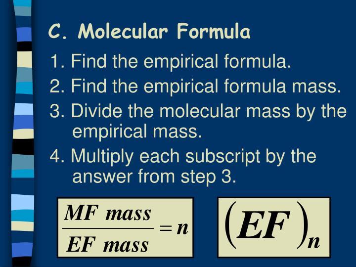 C. Molecular Formula