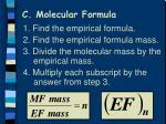 c molecular formula1