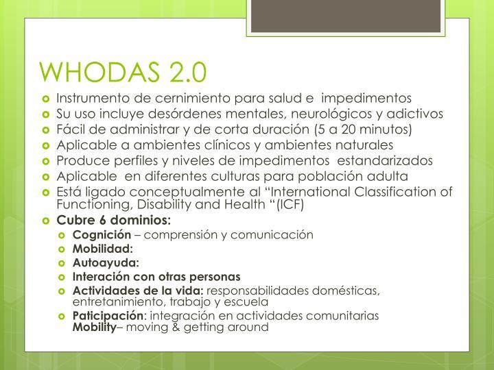 WHODAS 2.0